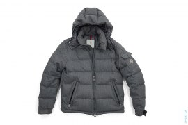 Montgenevre Wool Down Puffer Jacket by Moncler
