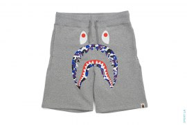 Hong Kong City Exclusive  ABC Camo Shark Sweathorts by A Bathing Ape