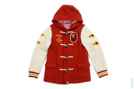 Wappen Wool Duffle Coat by A Bathing Ape