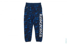 Color Camo Old English Sweatpants by A Bathing Ape x Undefeated