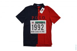 1992 Polo Stadium Split Polo Shirt by Ralph Lauren