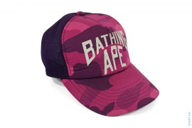 APEE Color Camo New York Logo Trucker by A Bathing Ape