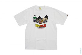 Z Fighters Tee by A Bathing Ape x Dragon Ball