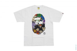 All Star Apehead Tee by A Bathing Ape x Dragon Ball