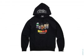 Z Warriors Pullover Hoodie by A Bathing Ape x Dragon Ball