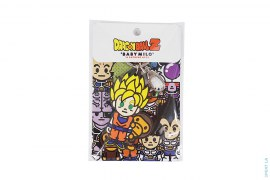 Super Saiyan Goku Peeping Milo Rubber Keychain by A Bathing Ape x Dragon Ball