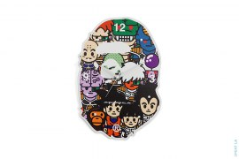All Star Apehead Wall Clock by A Bathing Ape x Dragon Ball