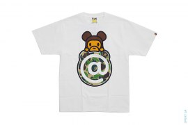 ABC Camo Milo Bearbrick Tee by A Bathing Ape x Medicom