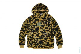 1st Camo Boa Half Zip Pullover Hoodie by A Bathing Ape
