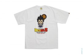 Vegeta Peeping Milo Tee by A Bathing Ape x Dragon Ball