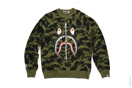 1st Camo WGM Wappen Shark Crewneck by A Bathing Ape