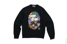 All Star Apehead Crewneck by A Bathing Ape x Dragon Ball