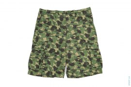 ABC Camo 2 Vintage Wash Cargo Shorts by A Bathing Ape