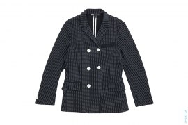 Polka Dot Thermal Lined Sweat Blazer by Yohji Yamamoto