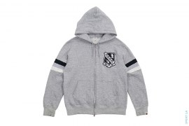 Trooper Crest Logo Hoodie by A Bathing Ape