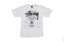 World Tour Tee by Stussy x Mastermind Japan