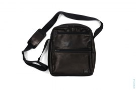 Leather Shoulder Bag by Porter
