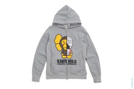 Dissected Milo Full Zip Hoodie by A Bathing Ape x Kaws x OriginalFake