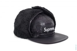 Quilted Earflap Camp Cap by Supreme
