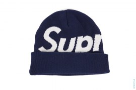 Big Logo Beanie by Supreme