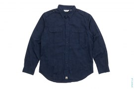 Jacquard Camo Two Pocket Button-Up Shirt by A Bathing Ape
