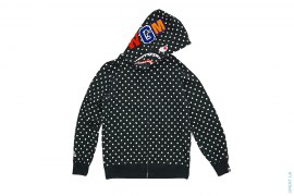Polka Dot Shark Hoodie by A Bathing Ape