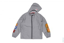 Reflective Shark Hoodie Jacket by A Bathing Ape