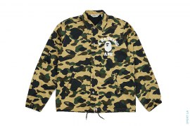 College Logo 1st Camo Coaches Jacket by A Bathing Ape