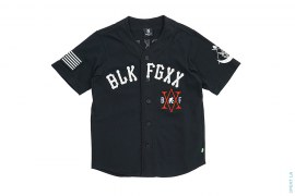 BLK FGXX Baseball Jersey by Black Scale x Fingercroxx