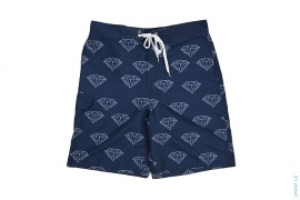 Diamond Swimming Trunks by Diamond Supply Co