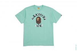 Katakana College Logo Tee by A Bathing Ape