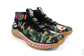 ABC Camo Damian Lillard 4 by A Bathing Ape