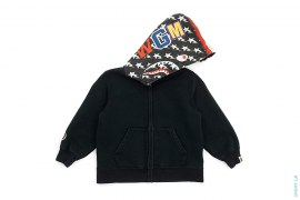 Stars & Stripes Shark Hoodie by A Bathing Ape