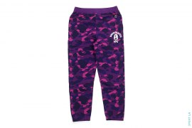 Color Camo Strike College Logo Sweatpants by A Bathing Ape x Undefeated