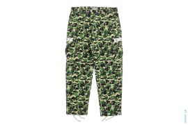 ABC Camo Strike College Logo 6 Pocket Cargo Pants by A Bathing Ape x Undefeated
