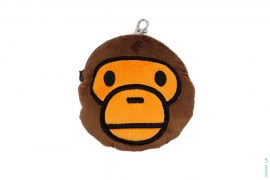 Boa Fur Milo Coin Pouch Keychain by A Bathing Ape