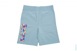 LA ABC Camo LAPE Palm Tree College Logo Sweatshorts by A Bathing Ape