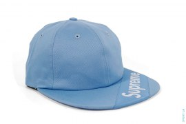 Visor Label 6 Panel Strapback by Supreme