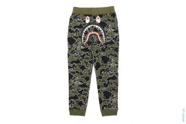 Psyche Camo Shark Sweatpants by A Bathing Ape