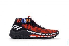 Dame 4 A Bathing Ape by adidas x A Bathing Ape