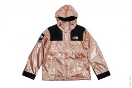 Metallic Mountain Parka Rose Gold by Supreme x The North Face