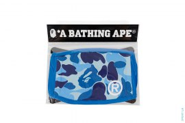 ABC Camo Cotton Mouth Face Mask by A Bathing Ape