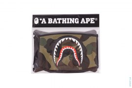 1st Camo Shark Cotton Mouth Face Mask by A Bathing Ape