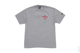 Totem Poll Graphic Tee by Stussy