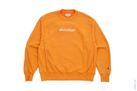 Embroidered Asterisk Logo Crewneck by 3peat LA x Divinities