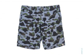 1st Camo Chambray Shorts by A Bathing Ape