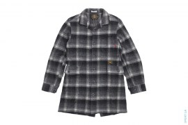 Wool Long Shirt Jacket by Wtaps