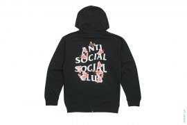 Kkoch Full Logo Zip-up Hoodie by Anti Social Social Club