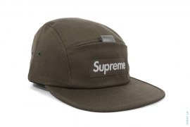 Box Logo Reflective Tab Pocket Camp Cap by Supreme