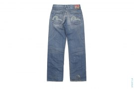 EU Vintage Wash Denim Made In Italy by Evisu